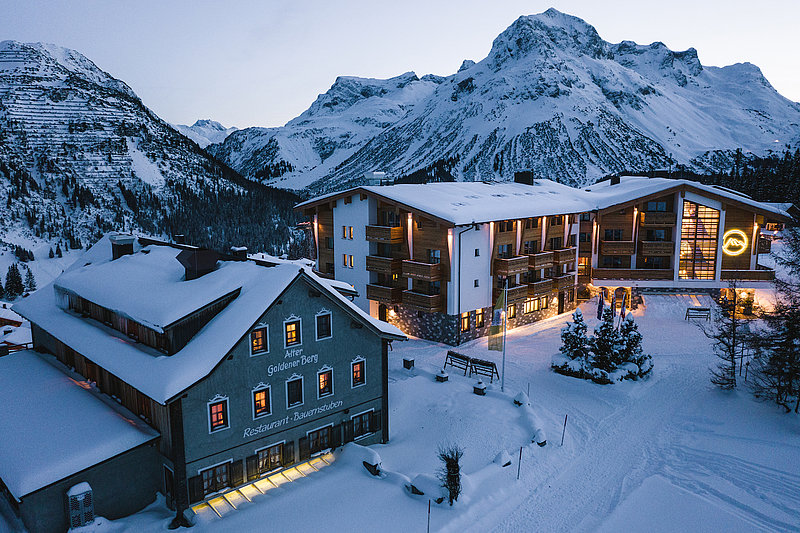 Alpine hotel in Austria